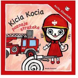 Kicia Kocia poznaje strażaka (opr. broszurowa)