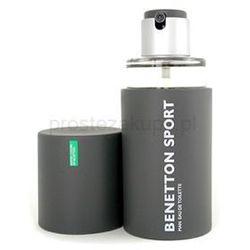 Benetton Sport Man woda toaletowa dla mężczyzn 100 ml + do każdego zamówienia upominek.