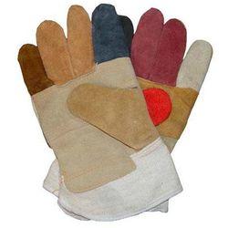 Rękawice wzmacniane skórą - RBK