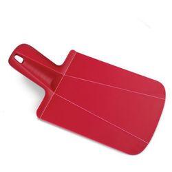 Joseph Joseph - Deska składana Chop 2 Pot mini - czerwona - czerwony