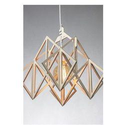 Lampa LAJT HIMMELI - wisząca lampa ze sklejki