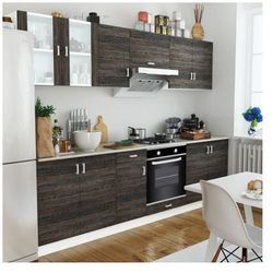 Zestaw szafek kuchennych 8 sztuk i piekarnik pod zabudowę, 6 funkcji, klasa A Zapisz się do naszego Newslettera i odbierz voucher 20 PLN na zakupy w VidaXL!
