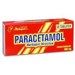 Paracetamol-Herbapol Wrocław tabl. 0,5g 30