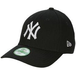 czapka z daszkiem New Era 9FO League Basic MLB New York Yankees Kid's - Black/Optic White