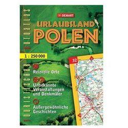 Polska Niezwykła (wersja niemiecka) turystyczny atlas samochodowy Demart (opr. twarda)