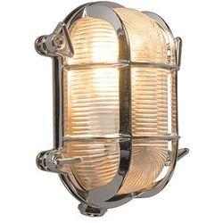Kinkiet/ plafon Nautica 2 owalny chrom