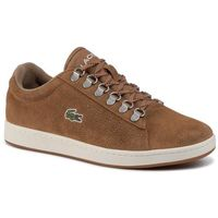 Sneakersy LACOSTE - Carnaby Evo 319 3 Sma 738SMA0011BW7 Lt Brw/Off Wht