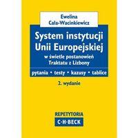 System instytucji Unii Europejskiej w świetle postanowień Traktatu z Lizbony (opr. miękka)