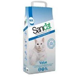 SANICAT Value bezzapachowy żwirek dla kotów 5l
