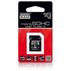 Karta pamięci 16GB microSDHC SD GOODRAM + adapter