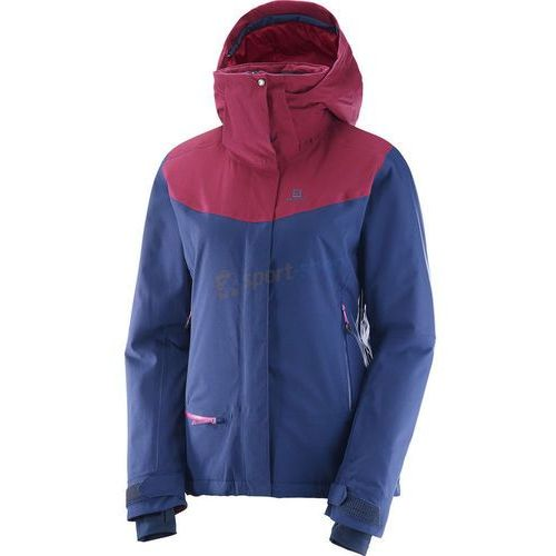 f07ff661613bd Kurtka narciarska damska Quest Snow Jacket Salomon (granatowo-różowa ...