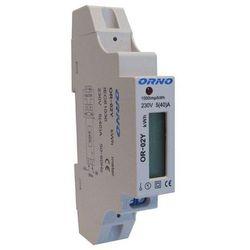 Orno Licznik zużycia energii elektrycznej 1F 5(40)A OR-WE-501