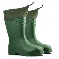 LAHTI PRO Kalosze męskie z kołnierzem ocieplane(035) Zielone, EVA, rozmiary 42-48 /K15361/ (ZNALAZŁEŚ TANIEJ - NEGOCJUJ CENĘ !!!)