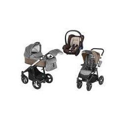 Wózek wielofunkcyjny 3w1 Lupo Husky Baby Design + Citi GRATIS (beżowy)
