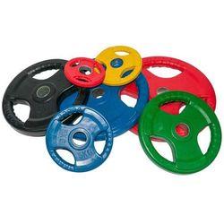 Obciążenie olimpijskie gumowane 10kg kolorowe