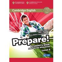 Cambridge English Prepare! Level 5 Student's Book and Online Workbook (opr. miękka)