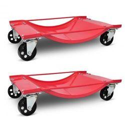 Wózek transportowy 2 sztuki. Zapisz się do naszego Newslettera i odbierz voucher 20 PLN na zakupy w VidaXL!
