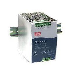 Zasilacz na szynę DIN Mean Well SDR-480-24, 20 A, 480 W, 1 x