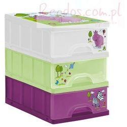 Pojemnik z szufladami HIPPO organizer