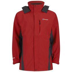 Berghaus Men's Hurricane Shell Jacket - Red/Dark Grey - S