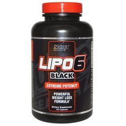 Nutrex Lipo 6 Black Maximum potency 120 kap