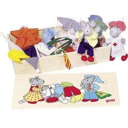 Myszy w skrzyneczce z ubraniami