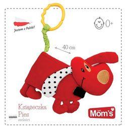 Mom's Care, Pies, miękka książeczka, zabawka niemowlęca Darmowa dostawa do sklepów SMYK