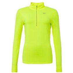 Nike Performance ELEMENT Bluzka z długim rękawem volt/reflective silver