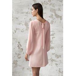 Sukienka Lilly z szyfonowymi rękawami