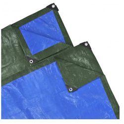 Plandeka, przykrycie (8 x 4 m), niebiesko-zielona Zapisz się do naszego Newslettera i odbierz voucher 20 PLN na zakupy w VidaXL!