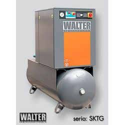 Sprężarka śrubowa WALTER SKTG 15 [8/10/15 bar] COMBO