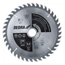 Tarcza do cięcia DEDRA H600100 600 x 30 mm do drewna
