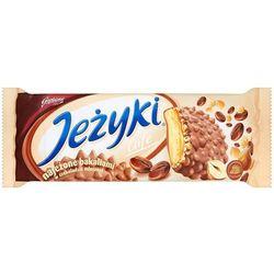 JEŻYKI 140g Kawowe w czekoladzie Herbatniki