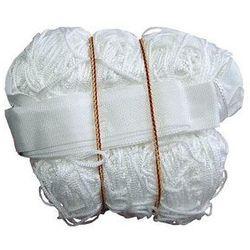 Siatka do siatkówki, biała, z antenką, 9,5x1m SI 0005 - 225H