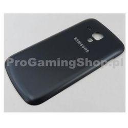 Wymiana pokrywy z powrotem (klapka baterii) dla Duos Samsung Galaxy S-s7562, Czarny