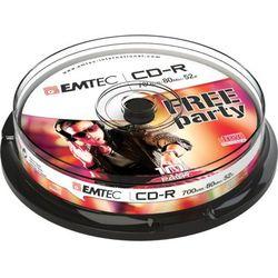 EMTEC PŁYTA CD-R CAKE BOX 25