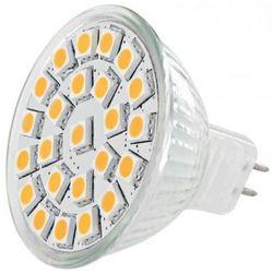 Lampa LED WHITENERGY Żarówka LED MR16 - 24x SMD 5050 - GU5.3