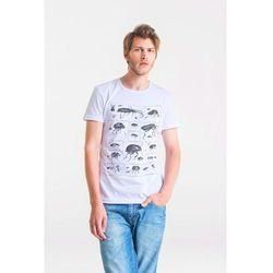 BUGS - Koszulka Męska T-shirt BIAŁY