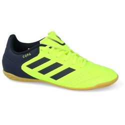 adidas Performance COPA 17.4 IN Halówki solar yellowlegend ink