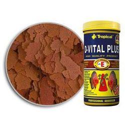 Tropical D-Vital Plus pokarm płatkowy dla paletek z witaminą E 150ml/25g