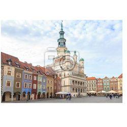 Fototapeta Ratusz i Kamienice na Rynku w Poznaniu