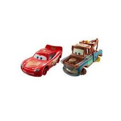 Auta Dwupak Cars Disney (Złomek bez opon i Lightning McQueen)