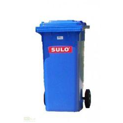 Pojemnik mobilny na odpady 120 L - niebieski SULO