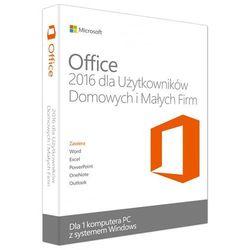 Program Microsoft Office 2016 dla Użytkowników Domowych i Małych Firm