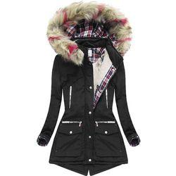 123b81fc8c7c kurtki zimowe damskie allegro (od DŁUGA PIKOWANA KURTKA ZIMOWA Z ...