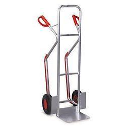 Aluminiowy wózek dwukołowy transportowy