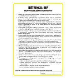 Instrukcja BHP przy obsłudze dźwigu towarowego