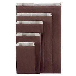 Czekoladowa torebka papierowa na prezent 180x330x60 mm