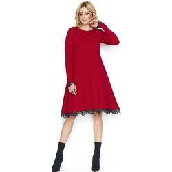 e47f1bcf2e Makadamia damska sukienka m447 38 czerwona - BEZPŁATNY ODBIÓR  WROCŁAW!