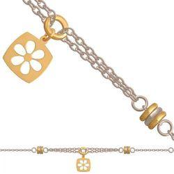 Złota bransoletka damska 35400